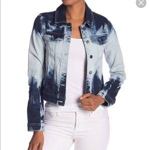 Rachel Rachel Roy Spring Casual Denim Jacket Blue